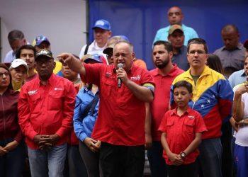 Diosdado Cabello: «Los golpistas están completamente derrotados»