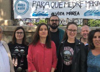 """Eva Solla chama a votar á Marea de Marín, """"unha candidatura que coñece as necesidades da veciñanza"""""""