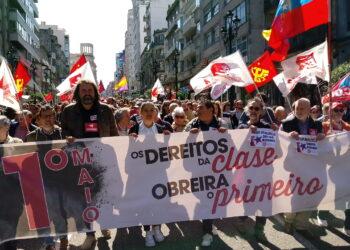 Esquerda Unida denuncia neste 1 de Maio o mantemento da precariedade e o aumento de sinistralidade laboral en Galicia