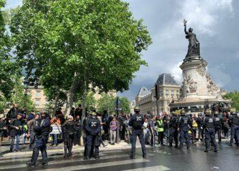 Nueva jornada de protesta de los chalecos amarillos en la víspera de la elecciones europeas