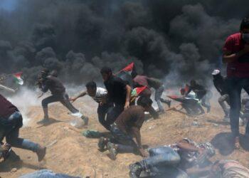 Represión israelí deja 16 nuevos palestinos heridos en Gaza