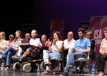 Ione Belarra y Pablo Echenique arropan a las candidaturas de Podemos para el Este de Madrid