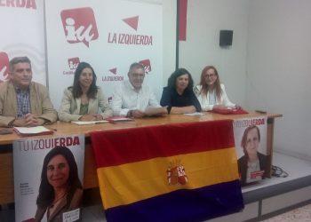 Recta final de la campaña electoral de Aurora Panizo, candidata Izquierda Unida a las Cortes de CyL  por la provincia de León