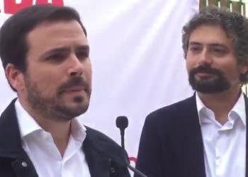 """Alberto Garzón anima al votante de izquierda a """"no relajarse"""" el 26M y apoyar a IU-Castilla y León en Marcha porque es el verdadero """"voto útil"""" en esta comunidad"""