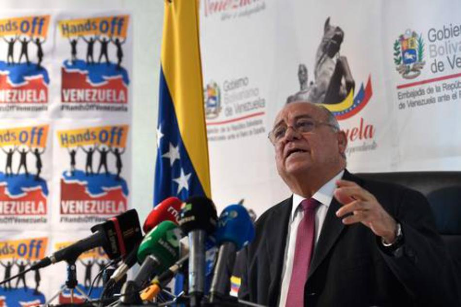 Mario Isea: «El Bloqueo y las sanciones a Venezuela existen y constituyen crímenes de lesa humanidad»