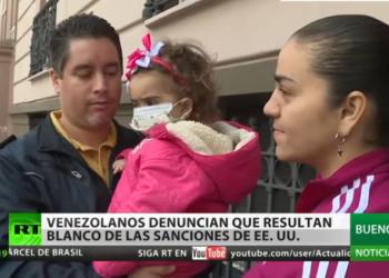 Venezolanos necesitados de medicinas importadas denuncian ser blanco de las sanciones de EE.UU.