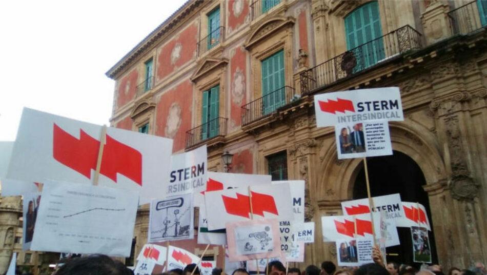 STERM exige una negociación urgente para el aumento de las plantillas de cara al curso 2021/2022 en Murcia
