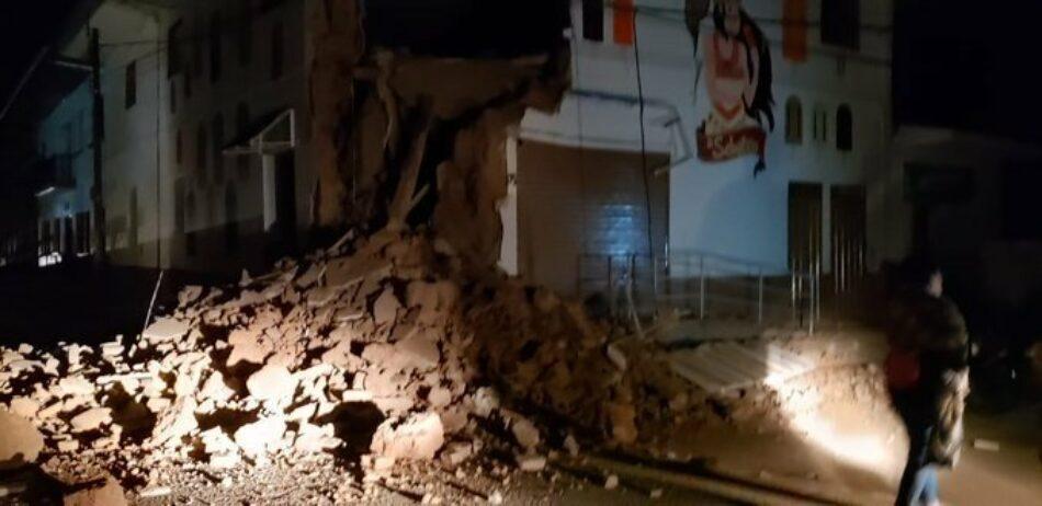 Un terremoto de magnitud 8 sacude Perú y Ecuador