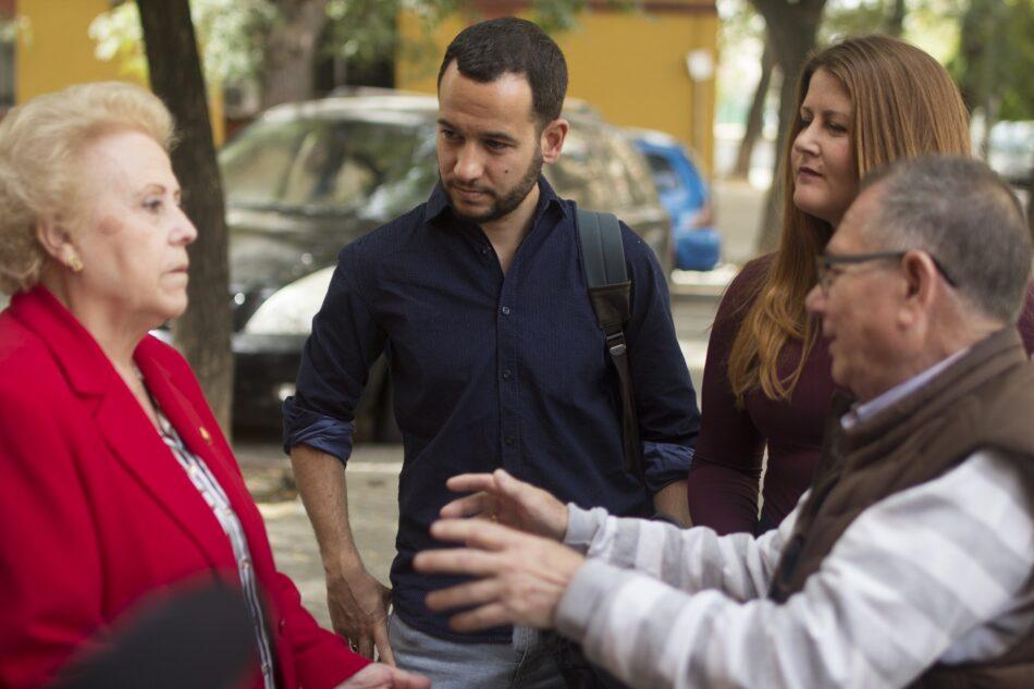 Adelante Sevilla creará un censo de personas mayores que vivan solas para garantizar su bienestar y acompañamiento