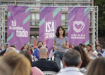 """Isa Serra: """"Vamos a poner el Gobierno al servicio de la mayoría de los madrileños y madrileñas"""""""
