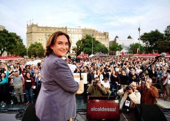 Ada Colau: Tornarem a fer història. Em deixaré la pell per demostrar que aquesta ciutat valenta dóna un missatge d'esperança al món
