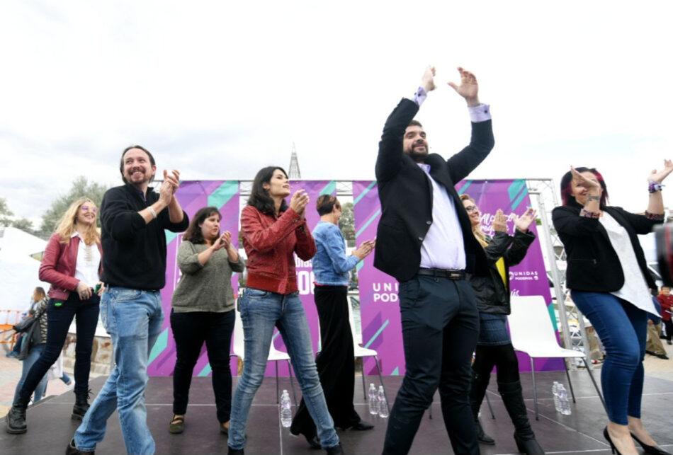 Iglesias asegura que Gabilondo no niega un pacto con Ciudadanos en Madrid porque sabe que «recibirá llamadas del poder»