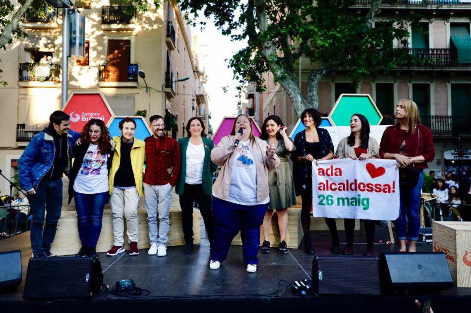 Barcelona en Comú es reivindica com l'única opció garant del compromís amb la diversitat