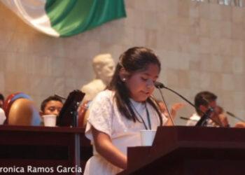 México. Diputada infantil por Oaxaca reclama por femicidio de su madre y denuncia impunidad / En lo que va del año, son 66 las víctimas en esa provincia