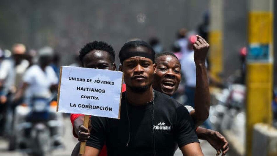 Haití. Nuevas y multitudinarias movilizaciones este domingo exigiendo la caída de Jovenel Moise