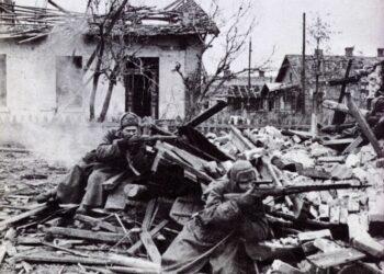 Los verdaderos datos de la II Guerra Mundial: Los soviéticos aplastaron 607 divisiones fascistas; todo el resto del ejército aliado, 176