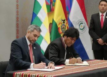 Morales y Abdo Benítez sellan alianza estratégica para la «prosperidad» de Bolivia y Paraguay