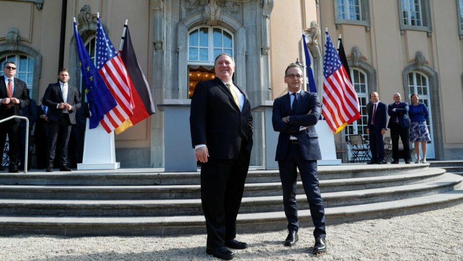 Alemania y Estados Unidos muestran sus crecientes diferencias en la visita de Pompeo a Berlín