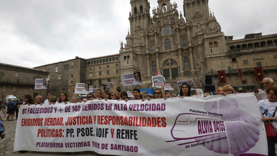 La Plataforma Víctimas Alvia 04155 trasladará sus reivindicaciones a la presidenta de ADIF