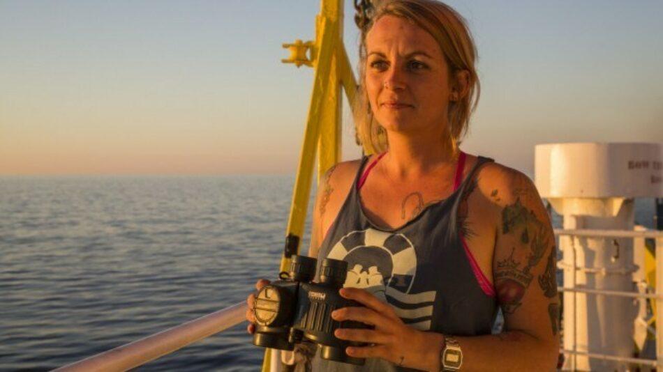 20 años de prisión para bióloga alemana Pia Klemp la por rescatar migrantes en el Mediterraneo