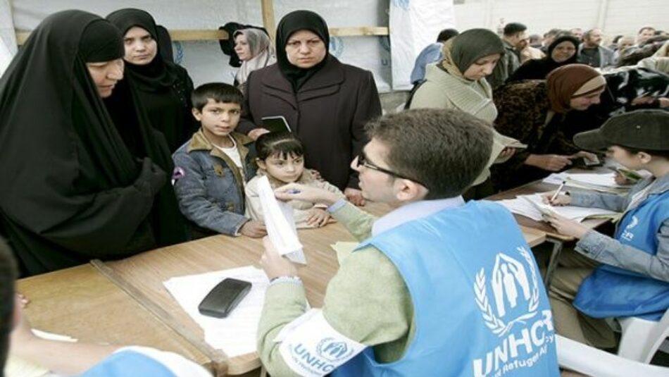 ONU reporta 70,8 millones de refugiados y desplazados en 2018