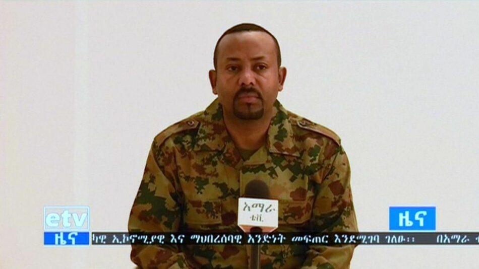 Intento de golpe de estado en Etiopía