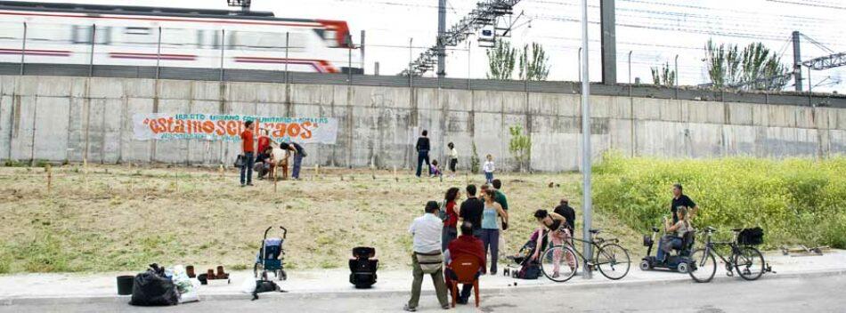 Victoria vecinal: Adif comenzará en septiembre a instalar pantallas antiruido en el barrio de Adelfas (Retiro)