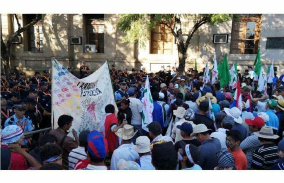 Paraguay. Campesin@s exigen al Gobierno cumplimiento de acuerdos