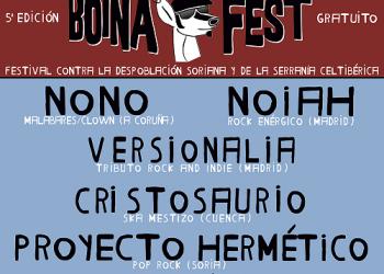 Cristosaurio, Proyecto Hermético y Black Luminescent representarán a la Serranía Celtibérica  en el 1er festival contra la despoblación Boina Fest