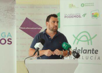 Podemos Málaga presenta la conferencia política 'Andalucía Horizonte 2023'