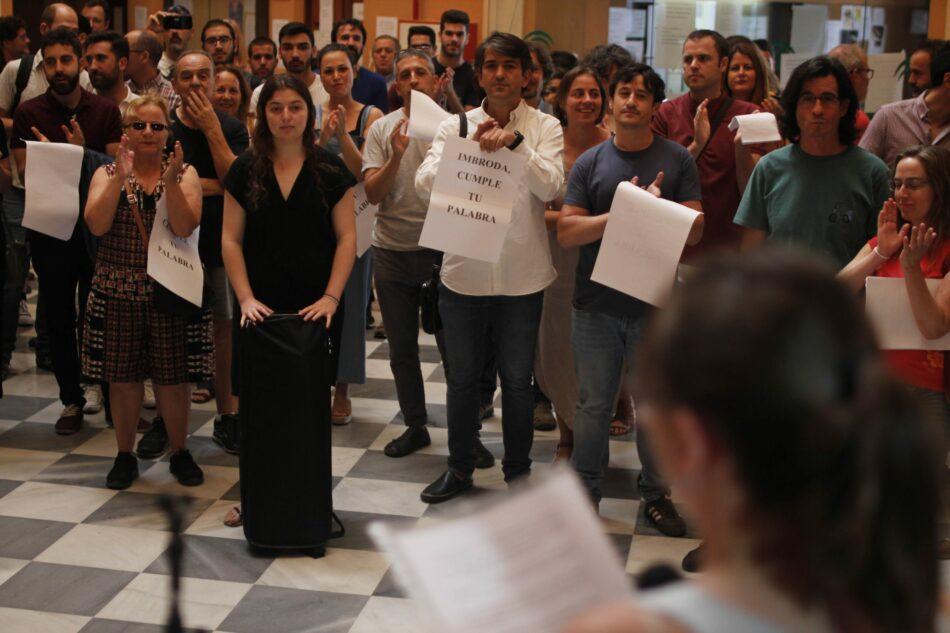 Adelante Sevilla exige una solución para el cuerpo docente del Conservatorio Superior de Música y Danza