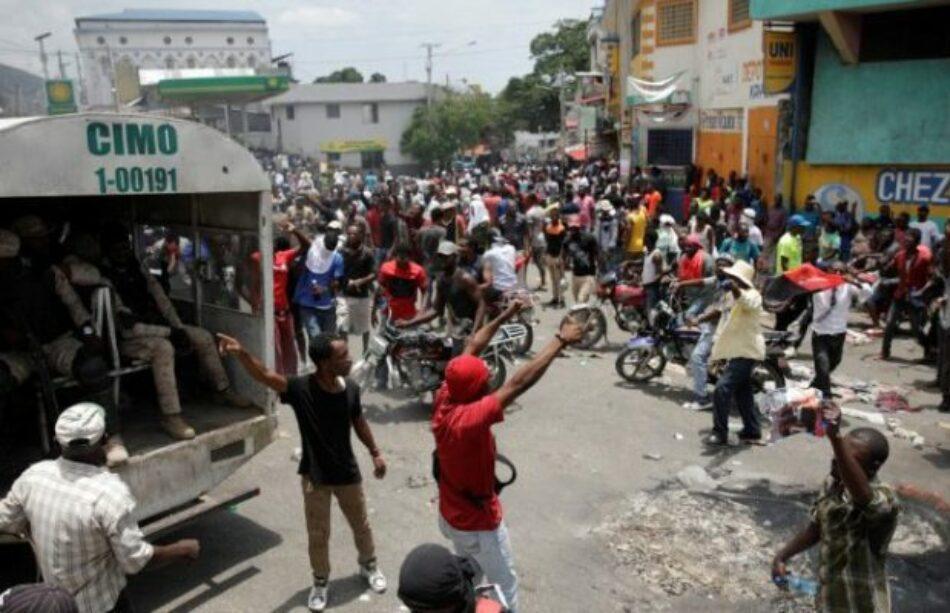 Haití: Puerto Príncipe sigue paralizado y se anuncian más movilizaciones y una huelga general