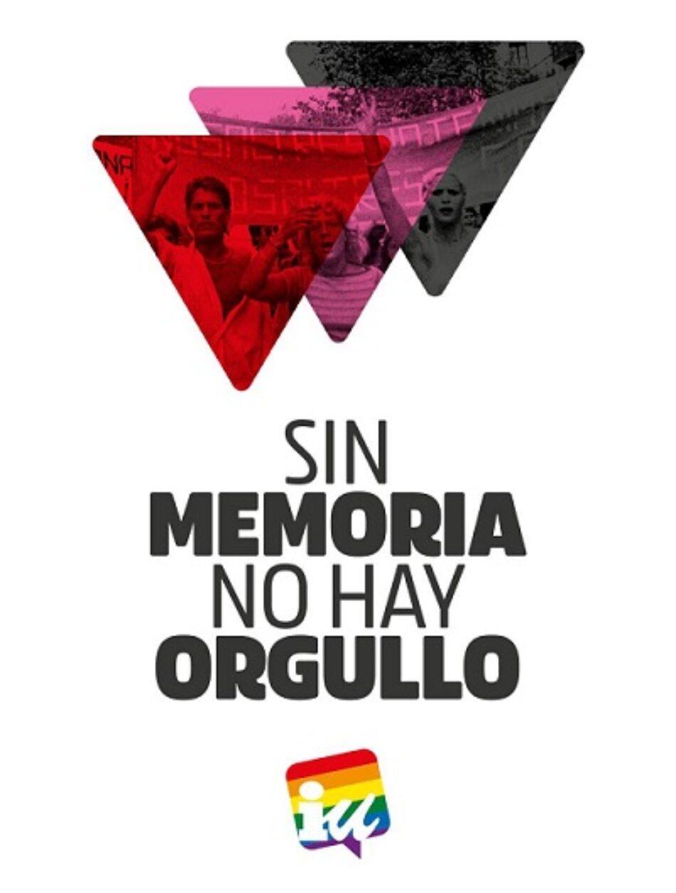 «Sin memoria no hay orgullo»