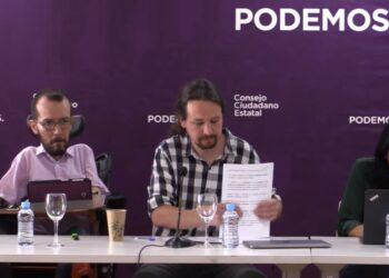 El Consejo Ciudadano Estatal de Podemos se reúne este sábado