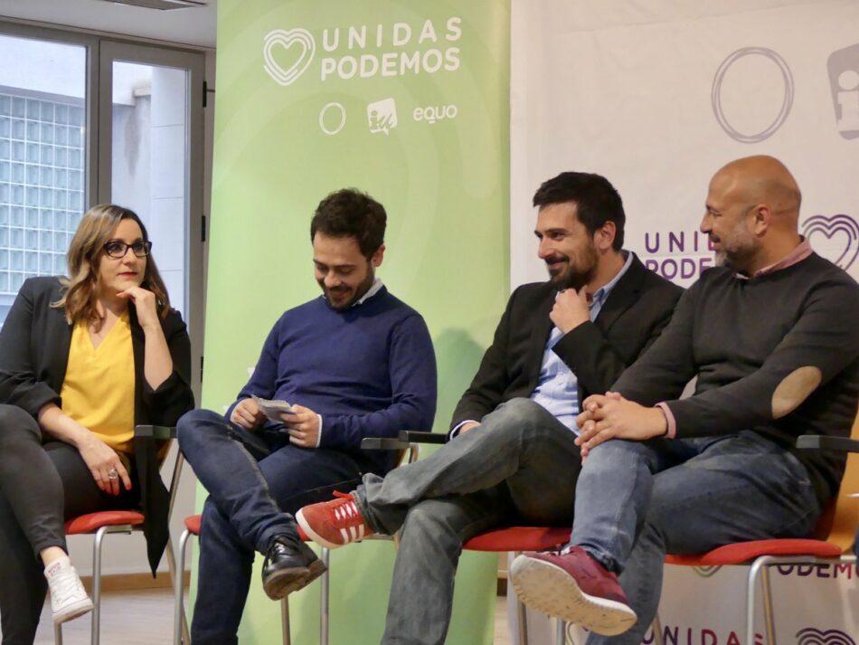 El ex secretario general de Podemos en la Comunidad de Madrid, Ramón Espinar, pide un «Vistalegre III»