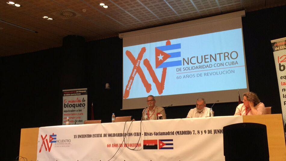 Rivas acoge durante todo el fin de semana el XV Encuentro de Solidaridad con Cuba