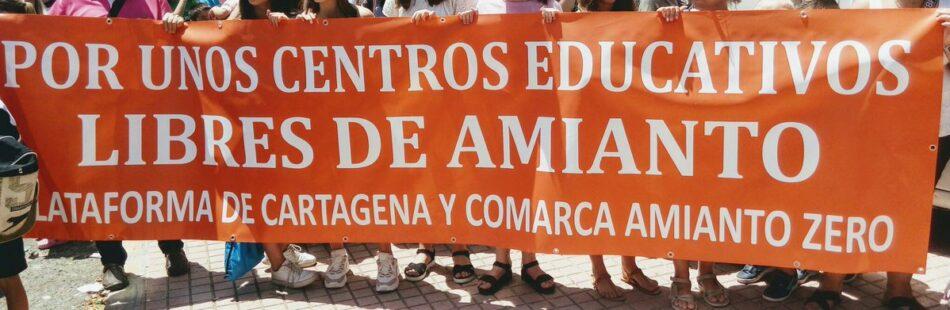 STERM-i reclama hechos concretos para eliminar el amianto de los centros educativos
