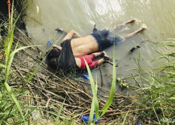 Salvadoreño y su hija mueren ahogados en intento por llegar a EEUU