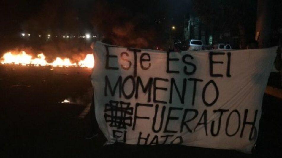 Al menos un fallecido y 15 heridos dejan protestas en Honduras