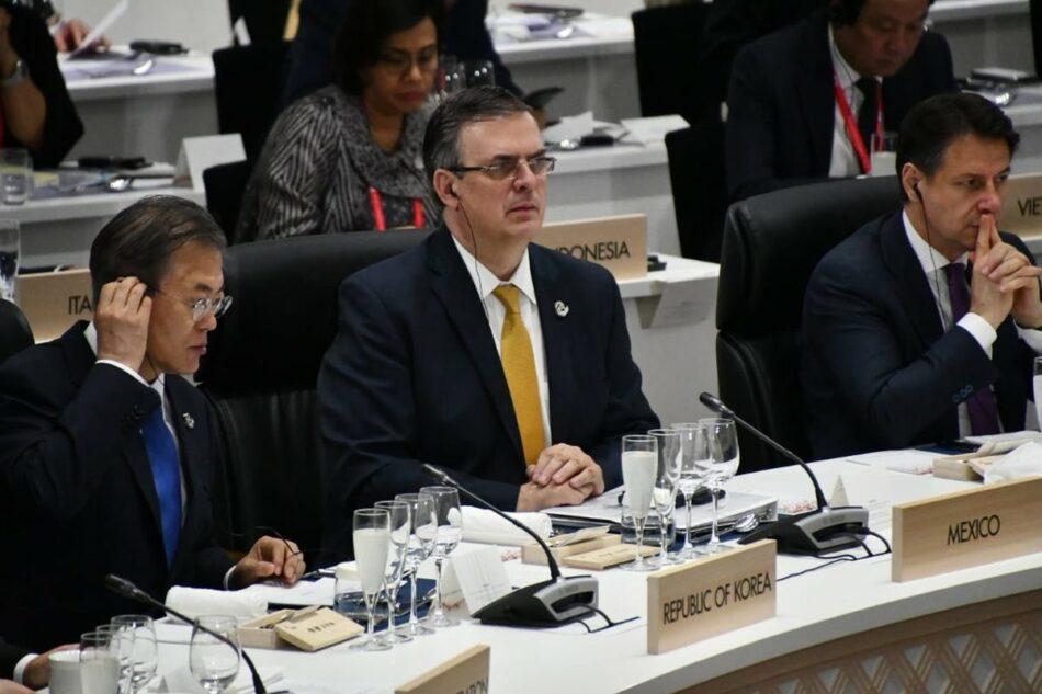 México presenta ante el G20 su plan para el desarrollo de Centroamérica