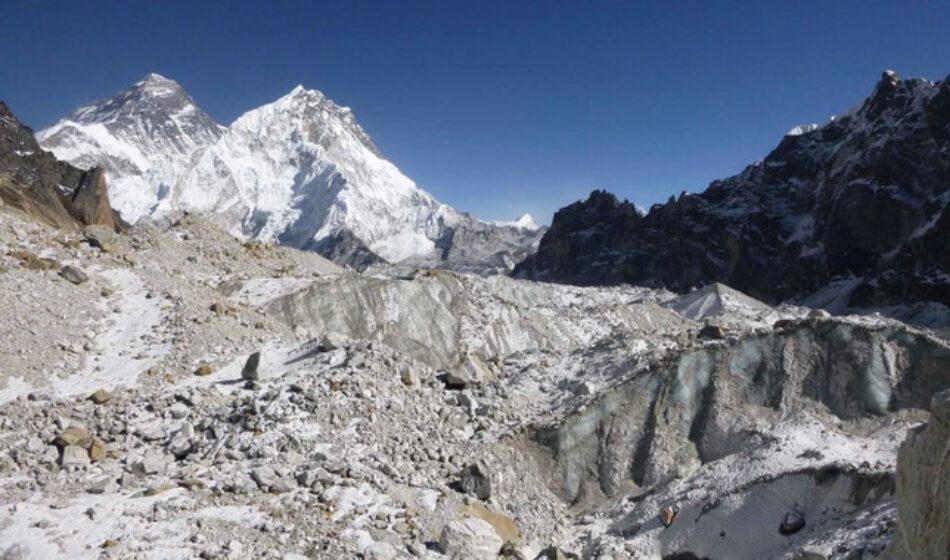 El cambio climático se come los glaciares del Himalaya