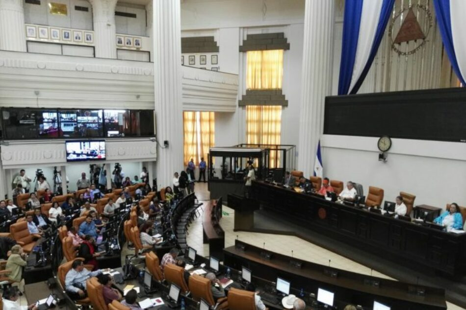 La Asamblea Nacional de Nicaragua presenta una ley de Amnistía