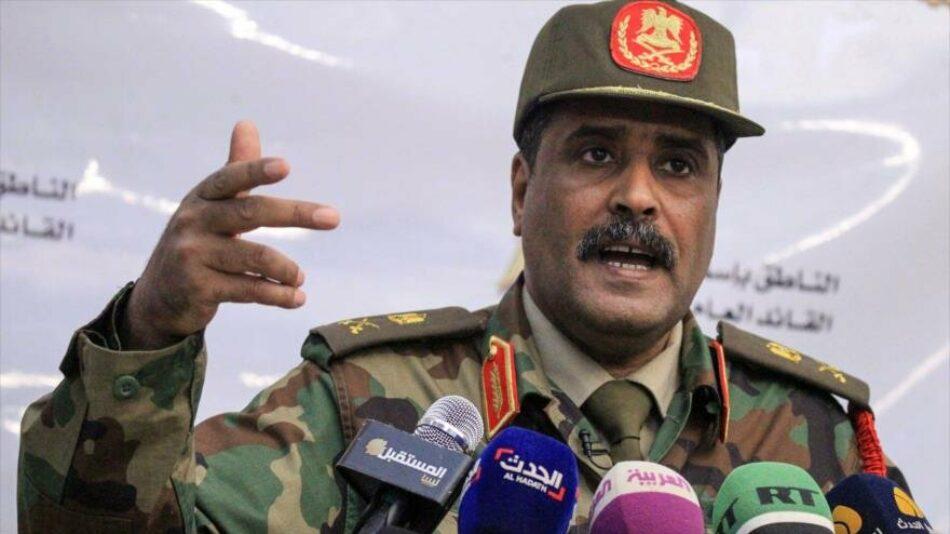 Haftar, líder del Ejército Nacional Libio, ordena atacar barcos turcos en el territorio libio