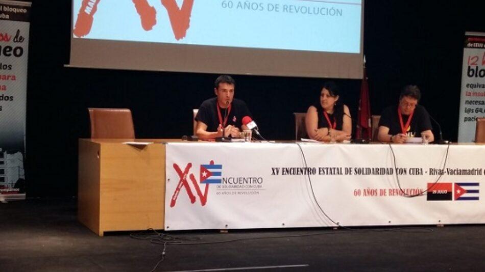 Unidad y coordinación contra la agresión de EEUU: así fue el XV Encuentro de Solidaridad con Cuba del Estado español