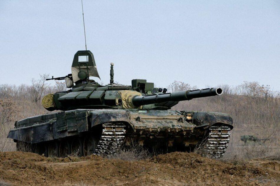 Ejército sirio transporta sus tanques más avanzados a la batalla de Hama/Idleb