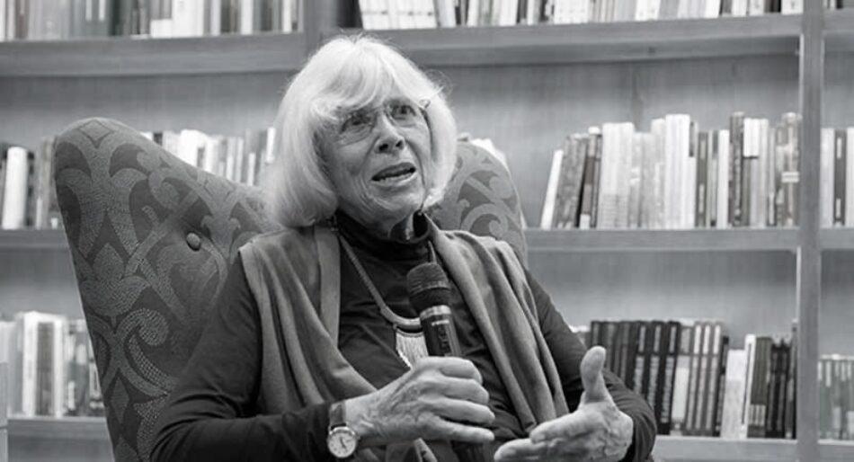 Fallece Marta Harnecker, autora y pedagoga fundamental en la izquierda
