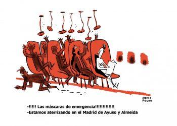 Crise do coronavirus: Esquerda Unida esixe á Xunta de Galicia explicacións pola propaganda institucional no reparto de máscaras nas farmacias