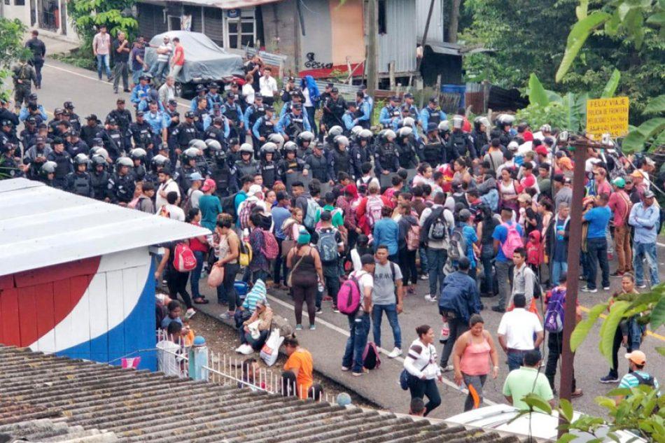 Centroamérica queda desamparada frente a crisis migratoria