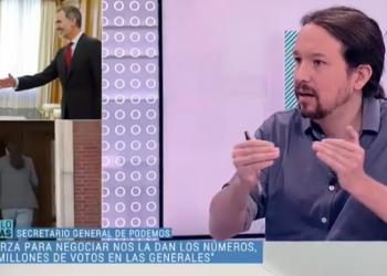 Iglesias, sobre el pacto de Gobierno con el PSOE: «con el peso que tenemos entiendo que nos corresponden carteras que tengan que ver con la aplicación de derechos sociales»