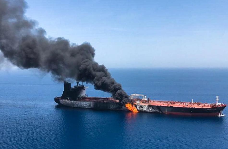 ONU pide investigación sobre ataque en el golfo de Omán